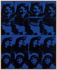 andy warhol, 'sixteen jackies', 1964 by richard pettibone