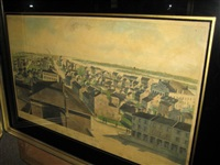 panorama of north st. louis, 1840 (after jc wild) by charles overall