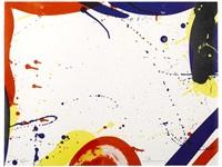 untitled (from portfolio 9) by sam francis
