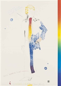 the picture of dorian gray (portfolio of 22) by jim dine