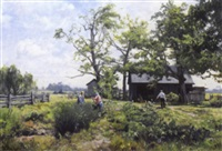the vegetable patch (near orangeville, ont.) by alexis arts