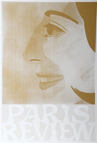 paris review sepia by alex katz