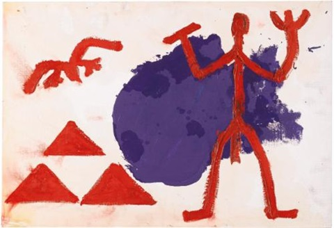 untitled by ar penck