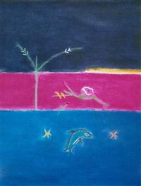 dolphin by craigie aitchison