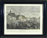 schlachtenszene bei landshut 1809 by johann lorenz rugendas the younger