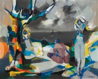 le bain by marcel mouly