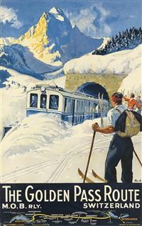 the golden pass route/switzerland by edouard elzingre