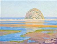 morro rock, morro bay, california by clyde eugene scott