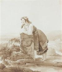 une romaine by jean alaux