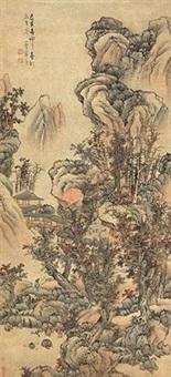 秋山红树 by lan ying