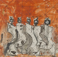 study for apollinaire's bestiary by graham sutherland