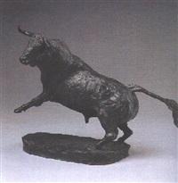 toro derrotando by manuel de la fuente
