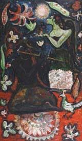 krishna & radha by agus djaya