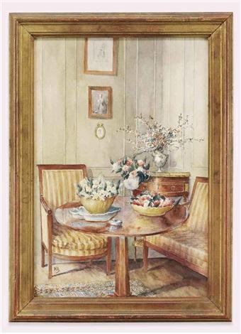 interior at st guen vannes by jean leonhard koechlin schwartz