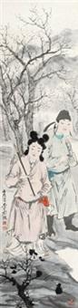 秋兴 (figure) by liu bo