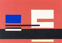 composition plastique, variation n ° 3 by jean albert gorin