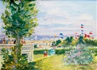 la terrasse de la villa au touquet by georges yoldjoglou