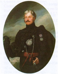 portrait of lt. john twigg by lodovico lipparini
