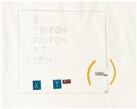a fripon fripon et demi by lawrence weiner