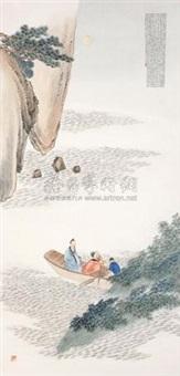 山水人物 (figure) by xu shouchen