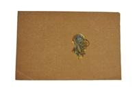dessin préparatoire pour une broche by rené lalique