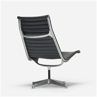 aluminum group lounge chair by charles and ray eames