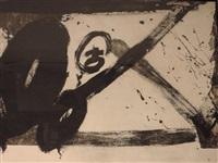 noir et blanc by antoni tàpies