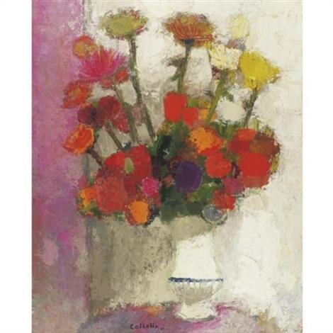 Le Vase Blanc By Bernard Cathelin On Artnet