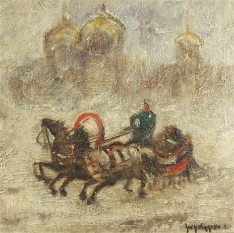 winter in moscow by guy carleton wiggins