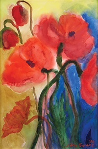 poppies by jane evans