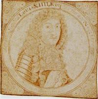 portrait of louis xiv by john faber the elder