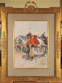 hussard de la garde impériale by george bertin scott