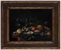 nature morte aux huîtres by jan davidsz de heem
