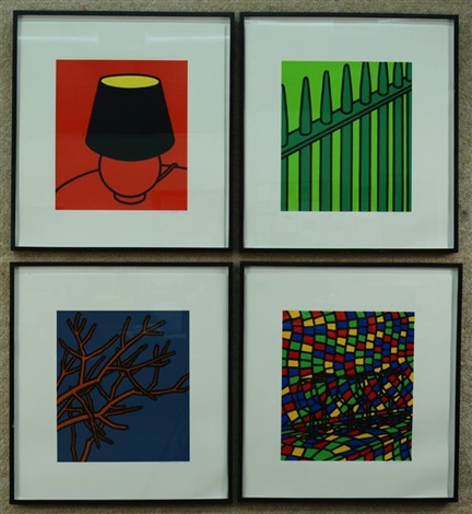 poems of jules laforge (22 works) by patrick caulfield