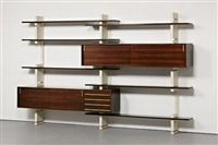 wall-mounted bookcase by amma