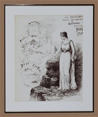 lady liberty blowing up boss tweed and tamany hall by thomas nast