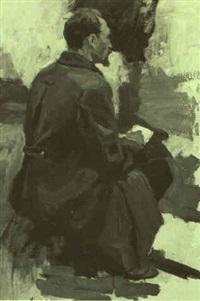 dzerzinski advising lenin by nikolai n. volodimirov
