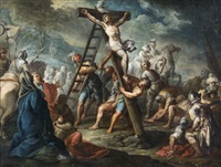 la crucifixion by jacques gamelin