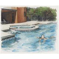 untitled (morning swim) by delia brown