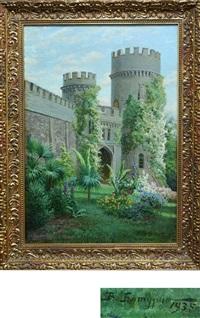 алупкинский дворец by viktor pavlovitch baturin