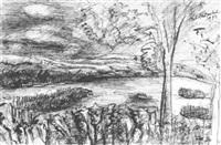 adirondack lake by richard huelsenbeck