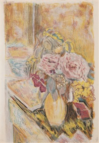fleurs by jacques villon by pierre bonnard