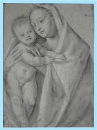 madonna con bambino by bernardino lanino