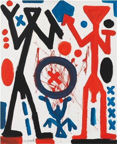 the right point by ar penck