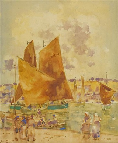 ferryden harbor by james watterston herald