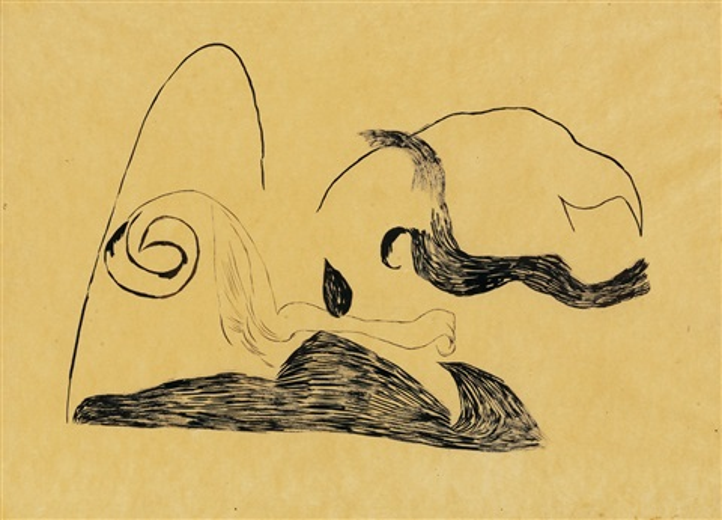 organic composition (1939-1940 kemény katalin teremtés) by lajos vajda