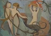 les trois jeunes filles by marie laurencin