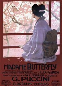puccini: madame butterfly by leopoldo metlicovitz