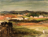 north shore hills, sydney by lloyd frederic rees