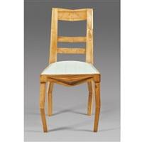 side chair (kubistická židle z ořechového dřeva) by pavel janák